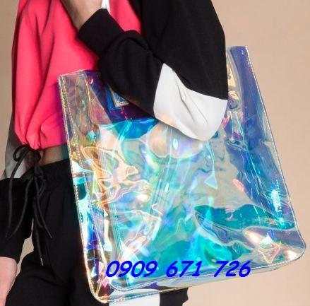 túi nhựa dẻo hologram